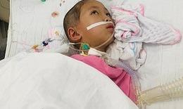 Cứu bé gái bị viêm não Nhật Bản gồng mình chiến đấu với bệnh tật