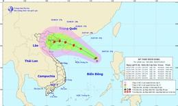 Áp thấp nhiệt đới dễ mạnh lên thành bão gần Quảng Ninh, Nam Định