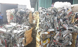Yêu cầu vận chuyển hơn 500 container phế liệu ra khỏi lãnh thổ Việt Nam