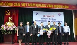 Bộ Y tế bổ nhiệm lại Phó Giám đốc BV Da liễu Trung ương và BV Hữu nghị Việt Đức