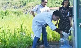 Hà Nội: Tiếp tục lấy mẫu nước để tiến hành xét nghiệm nước hàng ngày
