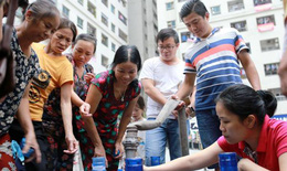 Kết quả mới nhất về chất lượng nước sạch của Nhà máy nước Sông Đà