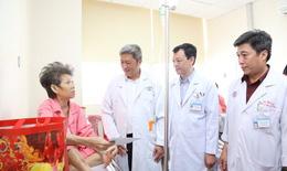 Bộ Y tế kiểm tra công tác trực Tết khối điều trị và dự phòng phía Nam