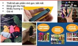 Vạch trần các chiêu trò marketing thuốc lá thế hệ mới nhắm vào giới trẻ
