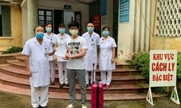 Thêm 1 người được chữa khỏi COVID-19 tại BVĐK tỉnh Nam Định