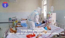 [Video] 2 ngày thần tốc biến BV huyện thành cơ sở hiện đại điều trị bệnh nhân COVID-19