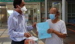Cụ ông 90 tuổi có bệnh nền nặng cùng 18 người khác khỏi COVID-19