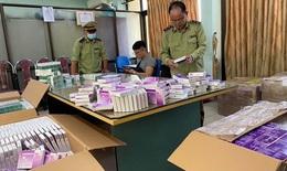 Hà Nội: Thu giữ hơn 130.000 hộp thuốc thận, huyết áp, kháng sinh, dạ dày trôi nổi