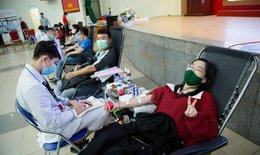 Dịch COVID-19 ảnh hưởng đến lượng máu tiếp nhận phục vụ cấp cứu, điều trị