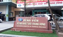 Khử khuẩn sạch sẽ, BV Bệnh Nhiệt đới TW cơ sở Giải Phóng khám bệnh bình thường