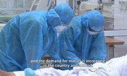 [Video] Tri ân những điều dưỡng dũng cảm chiến đấu giữa đại dịch COVID-19