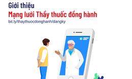 """Mạng lưới """"Thầy thuốc đồng hành"""" hỗ trợ từ xa khẩn cấp cho các bệnh nhân COVID-19"""