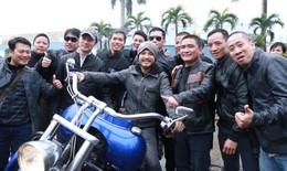 MC Anh Tuấn kêu gọi biker Hà Nội diễu hành tưởng nhớ Trần Lập