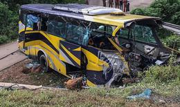 Tai nạn xe buýt nghiêm trọng ở Triều Tiên, nhiều du khách Trung Quốc thiệt mạng