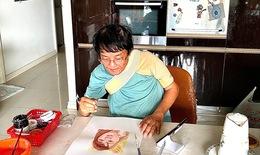 Nhà báo Huỳnh Dũng Nhân : Vẽ chống trầm cảm mùa cách ly