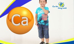 Phương pháp bổ sung canxi cho trẻ nhỏ đạt hiệu quả tối ưu