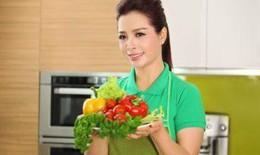 Siêu mẫu Thúy Hằng bật mí bí quyết chống thực phẩm bẩn cho cả gia đình