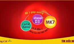 Bộ 3 Canxi nano, vitamin D3, MK7 có ở đâu? Dùng thế nào cho hiệu quả?