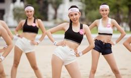 Thí sinh Hoa hậu Việt Nam nhảy dây 200 cái trong 1 phút