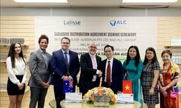Lần đầu tiên các sản phẩm của Lalisse Australia đến Việt Nam