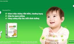 Giải quyết táo bón, biếng ăn ở trẻ nhờ bào tử lợi khuẩn