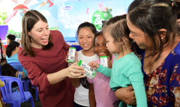Vinamilk tổ chức sân chơi 01/6 và hưởng ứng ngày sữa thế giới 2019 với chủ đề niềm vui uống sữa ở trường