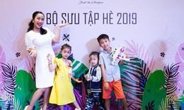 Gia đình Ốc Thanh Vân dự sự kiện ra mắt bộ sưu tập mới của M.D.K