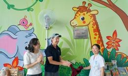 Khánh thành phòng chơi trẻ em tại Trung tâm Tim mạch- Bệnh viện Nhi trung ương