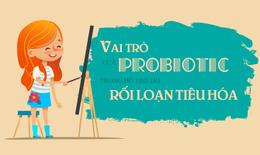 Vai trò của probiotics trong hỗ trợ đẩy lùi rối loạn tiêu hóa