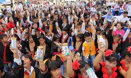 Học sinh Quảng Ninh đón nhận trường mới từ Chủ tịch Quốc hội