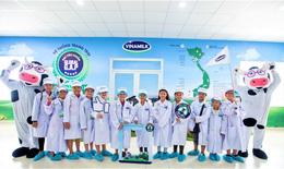 Chương trình sữa học đường chính thức đến với học sinh tỉnh Vĩnh Long