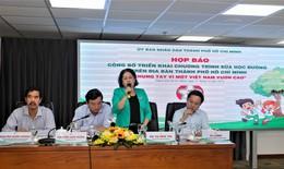 Hơn 300.000 trẻ em ở Tp. Hồ Chí Minh chính thức thụ hưởng chương trình sữa học đường