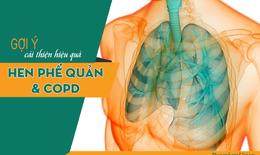 Giải pháp bảo vệ phổi từ bệnh hen suyễn, viêm phế quản COPD