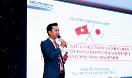 """DHG ra mắt sản phẩm """"2 trong 1"""": giảm mỡ máu, ngừa đột quỵ"""
