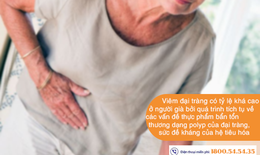 Viêm đại tràng ở người cao tuổi: Nhận biết và điều trị