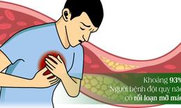 Chìa khóa giảm cholesterol, phòng xa nguy cơ đột quỵ ở người mỡ máu cao