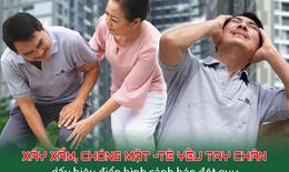 Xây xẩm, chóng mặt và tê yếu tay chân – nguy cơ đột quỵ ở người mỡ máu cao