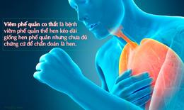 Viêm phế quản co thắt là gì? Nguyên nhân, triệu chứng, cách điều trị