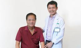 Bệnh nhân u tuyến giáp xâm lấn rộng được cứu sống