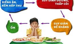 Nguyên nhân, hậu quả biếng ăn ở trẻ