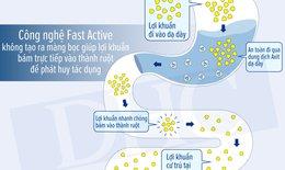 Fast Active – Công nghệ làm nên sự vượt trội của men vi sinh DHC