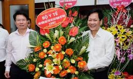 Kỷ niệm Ngày báo chí: Lãnh đạo Bộ Y tế đến thăm và chúc mừng báo Sức khỏe & Đời sống