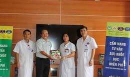 Bệnh viện K triển khai kệ sách miễn phí phục vụ bệnh nhân