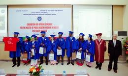 Người nước ngoài đến ĐH Y Hà Nội học thạc sĩ y tế công cộng