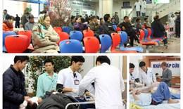 """Hàng ngàn cán bộ y tế """"bám trụ"""" bệnh viện để phục vụ người bệnh dịp Tết"""