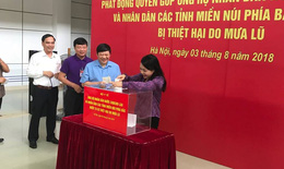 Bộ Y tế quyên góp ủng hộ nhân dân Lào và người dân các tỉnh miền núi phía Bắc