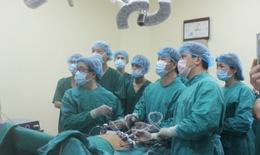 Bệnh viện K: Lần đầu phẫu thuật thành công u gan đa ổ bằng phương pháp nội soi