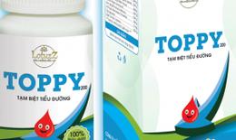 Quảng cáo thực phẩm Thảo dược Toppy như thuốc chữa bệnh, Công ty Lotuzz bị phạt 50 triệu đồng