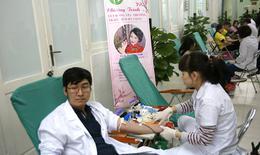 Thêm nguồn máu phục vụ nhu cầu cấp cứu bệnh nhân dịp Tết tại BV Việt Đức