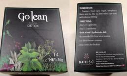 Buôn bán thực phẩm Go Lean Detox có chất cấm, Công ty TNHH Mat Xi S.G bị xử phạt hơn 160 triệu đồng